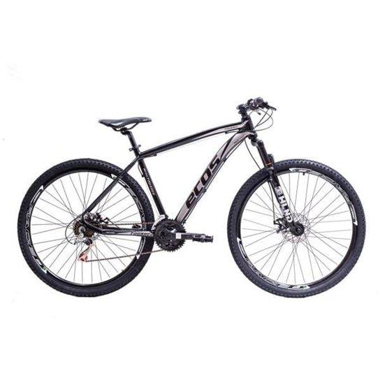 Bicicleta Aro 29 Ecos Touareg Kit 21V Shimano Freio A Disco Mec - Preto