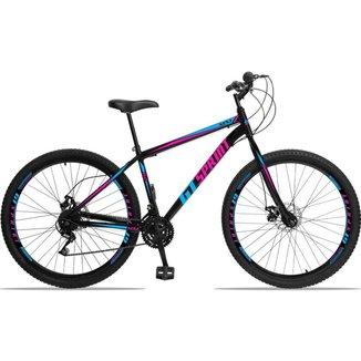 Bicicleta Aro 29 GT Sprint em Aço 21v Freio A Disco