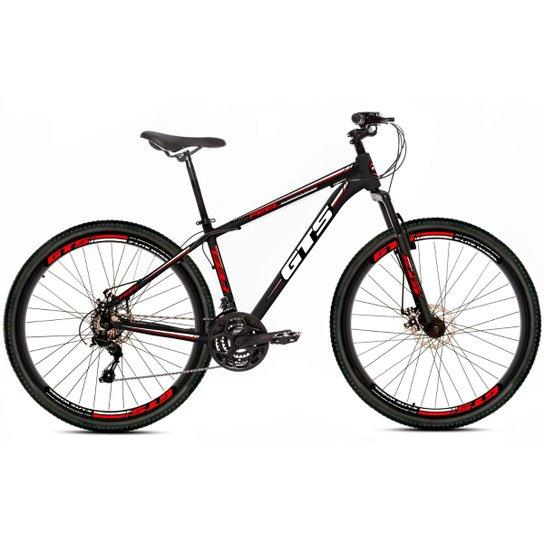 Bicicleta Aro 29 Gts Feel Freio À Disco 21 Marchas - Preto