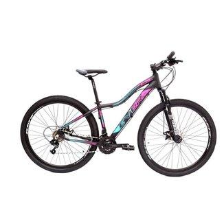 Bicicleta Aro 29 Kit Shimano Alumínio 21 Velocidades RG3 Feminina