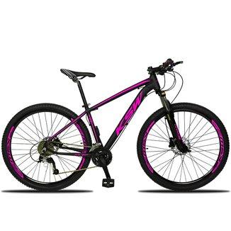 Bicicleta Aro 29 KSW 2.0 XLT 27 Marchas Freio a Disco Hidráulico e Suspensão com Trava no Ombro