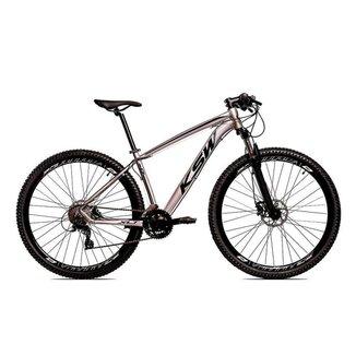 Bicicleta Aro 29 Ksw 21 Marchas Freio Hidraulico, Trava e K7
