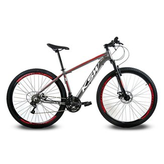 Bicicleta Aro 29 Ksw -  21V - Cambios Index
