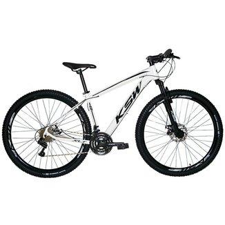 Bicicleta Aro 29 Ksw 24 Marchas Shimano, Freios a Disco e K7