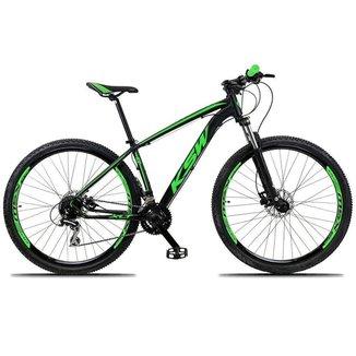 Bicicleta Aro 29 Ksw 24 Vel Shimano Freio Hidraulico/Trava