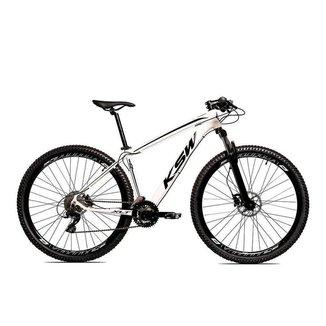 Bicicleta Aro 29 Ksw 27 Marchas Freio Hidráulico e Trava/K7