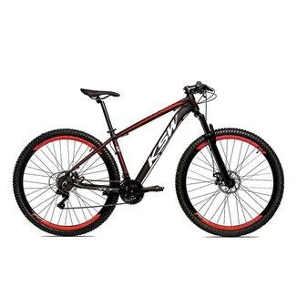Bicicleta Aro 29 KSW Alumínio 21 Velocidades Freio a Disco KRWX1