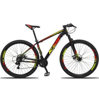Bicicleta Aro 29 KSW Edição Especial 21 Marchas Câmbios Shimano Freio a Disco Hidráulico