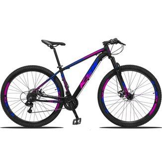 Bicicleta Aro 29 KSW Edição Especial 21 Marchas Câmbios Shimano Freio a Disco Mecânico
