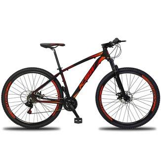 Bicicleta Aro 29 Ksw XL 21V Freio a Disco MTB Alumínio