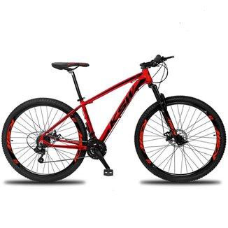 Bicicleta Aro 29 Ksw XL Câmbio Shimano 21v Alumínio Freio a Disco MTB