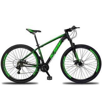 Bicicleta Aro 29 Ksw Xlt Câmbios Shimano 21v Freios Hidráulico Pedivela Alumínio