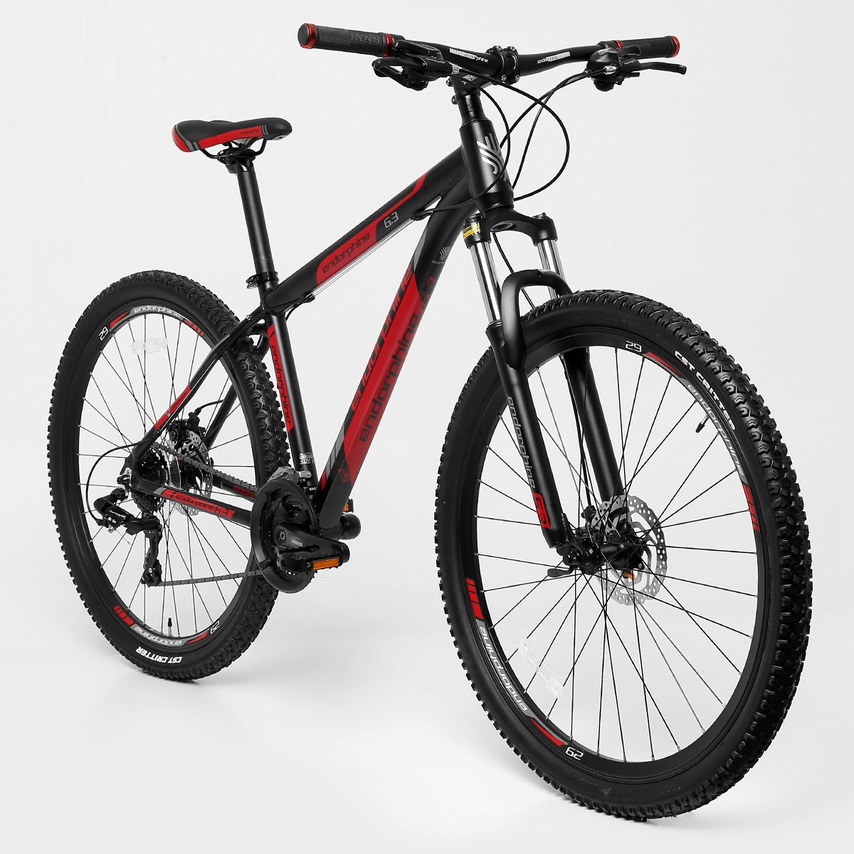 bicicleta aro 29 mountain bike gonew endorphine 6 3 24 marchas shimano alum nio compre. Black Bedroom Furniture Sets. Home Design Ideas