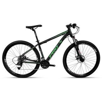 Bicicleta Aro 29 Prowest Freio Mec Trava Suspen 27v Pto e Vd