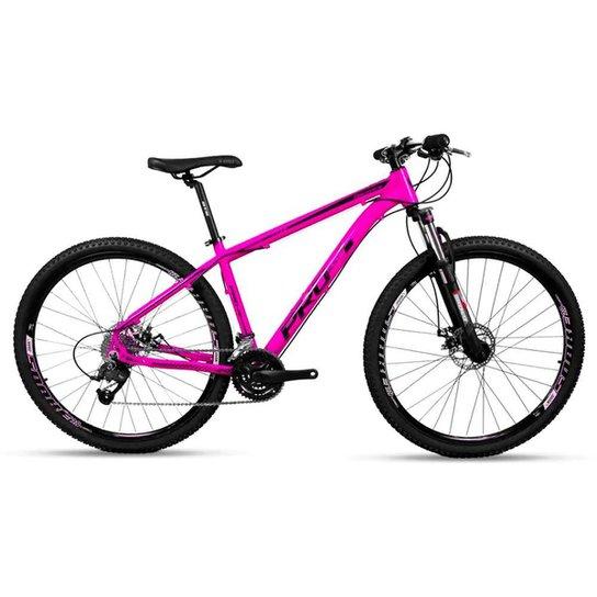 Bicicleta Aro 29 Prowest Freio Mec Trava Suspensão 27v Rosa - Rosa