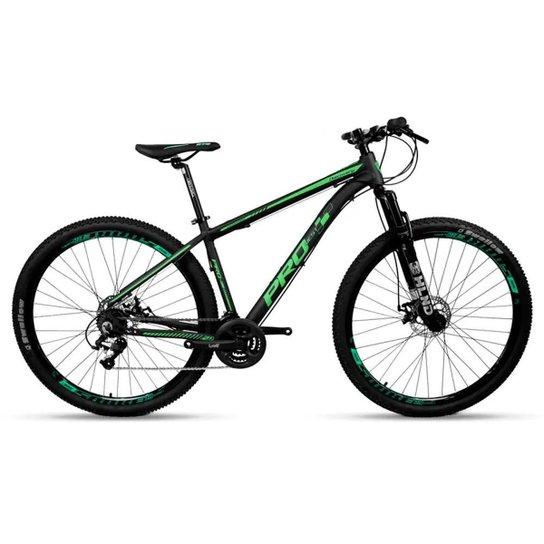 Bicicleta Aro 29 Prowest Megarange Freio Mec 24v Preto e Vd - Preto+verde