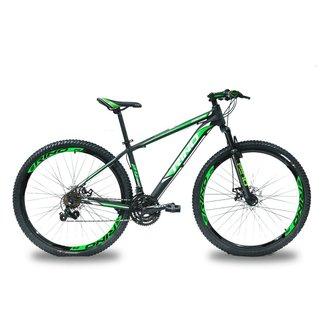 Bicicleta Aro 29 Rino Atamaca 21 velocidades com Freio á Disco