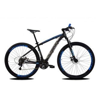 Bicicleta Aro 29 RINO EVEREST Freio a Disco - Cambios Shimano 21v