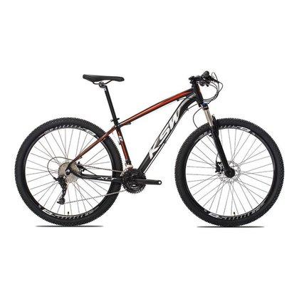 Bicicleta Aro 29 Shimano 27v Freio Hidráulico E Trava De Guidão