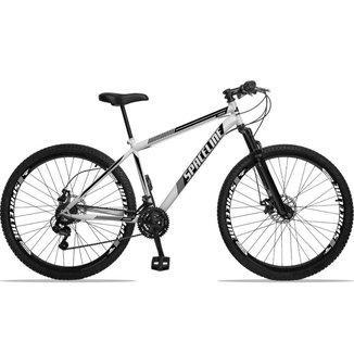 Bicicleta Aro 29 Spaceline Moon 21v Com Suspensão Freio A Disco - Tamanho 17