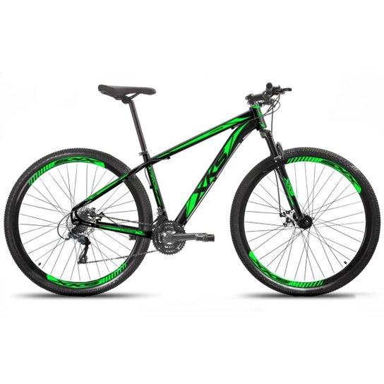 Bicicleta Aro 29 Xks Alumínio Freio A Disco 21v - Preto