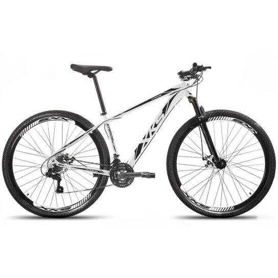 Bicicleta Aro 29 Xks Alumínio Freio A Disco 21v - Branco+Preto