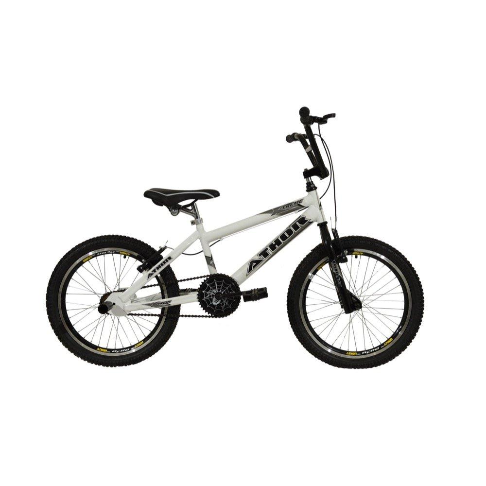 733cf14f5d30d Bicicleta Athor Aro 20 X Treme - Branco e Preto   Netshoes