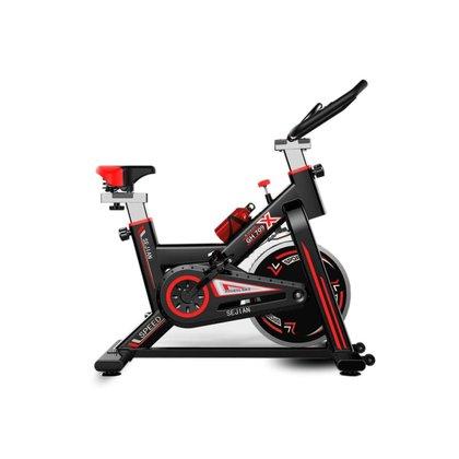 Bicicleta Bike Ergométrica Spinning 3 Seconds Vermelha