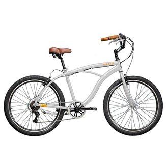 Bicicleta Blitz TERRAL Branco 21 velocidades urbana