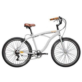 Bicicleta Blitz TERRAL Branco 7 velocidades urbana