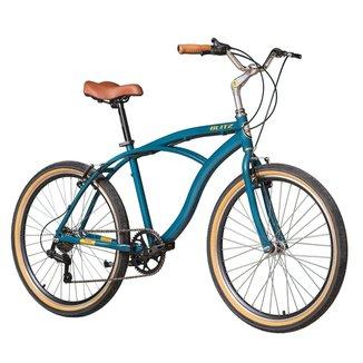 Bicicleta Blitz TERRAL Petróleo 7v urbana Shimano