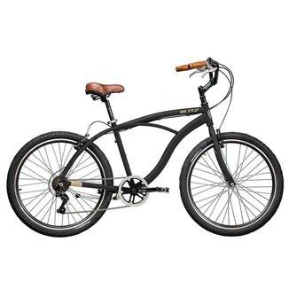 Bicicleta Blitz TERRAL Preto 21 velocidades urbana