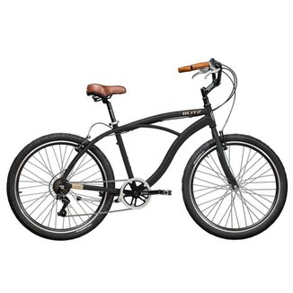 Bicicleta Blitz TERRAL Preto 7 velocidades urbana