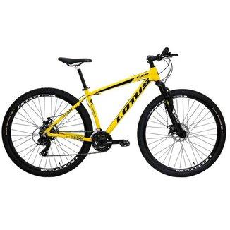 Bicicleta Ciclismo Bike Mtb Lotus CXR Aro 29 Am 21V Mec 17.5