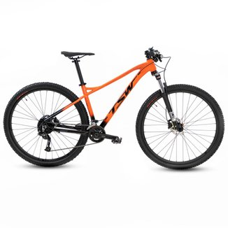 Bicicleta Ciclismo Bike Mtb Tsw Stamina Plus 29x17 Lj/Pt 18v