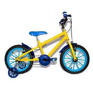 Bicicleta Ciclismo Infantil Criança Mtb Cores Aro 16 Samy