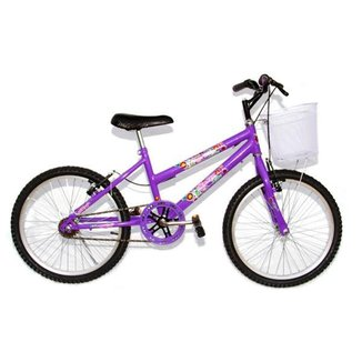 Bicicleta Ciclismo Infantil Mtb Feminina Aro 20 Crossbike