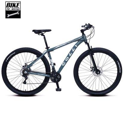1fd49541f6e557 Bicicleta Colli em Alumínio Aro 29 MTB Suspensão Dianteira Freios á ...