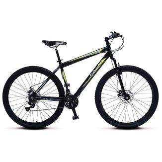 Bicicleta Colli Force One MTB Kit Shimano 21 Marchas Aro 29 Aero Freios a Disco