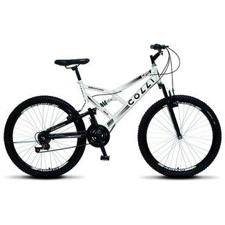 Bicicleta Colli Fulls GPS Aro 26 Dupla Susp. 36 Raios 21 Marchas