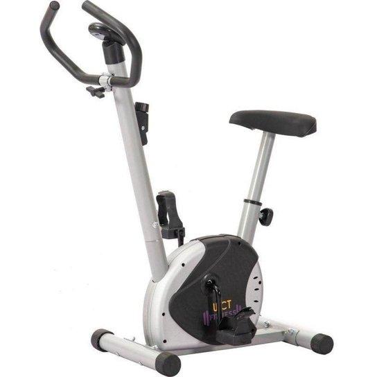 Bicicleta De Exercícios Ergométrica Wct Fitness - Cinza+Preto