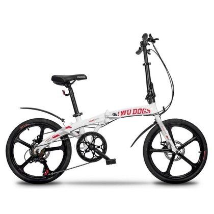 Bicicleta Dobrável Pliage Alloy Two Dogs Alumínio Aro 20 Shimano 7v