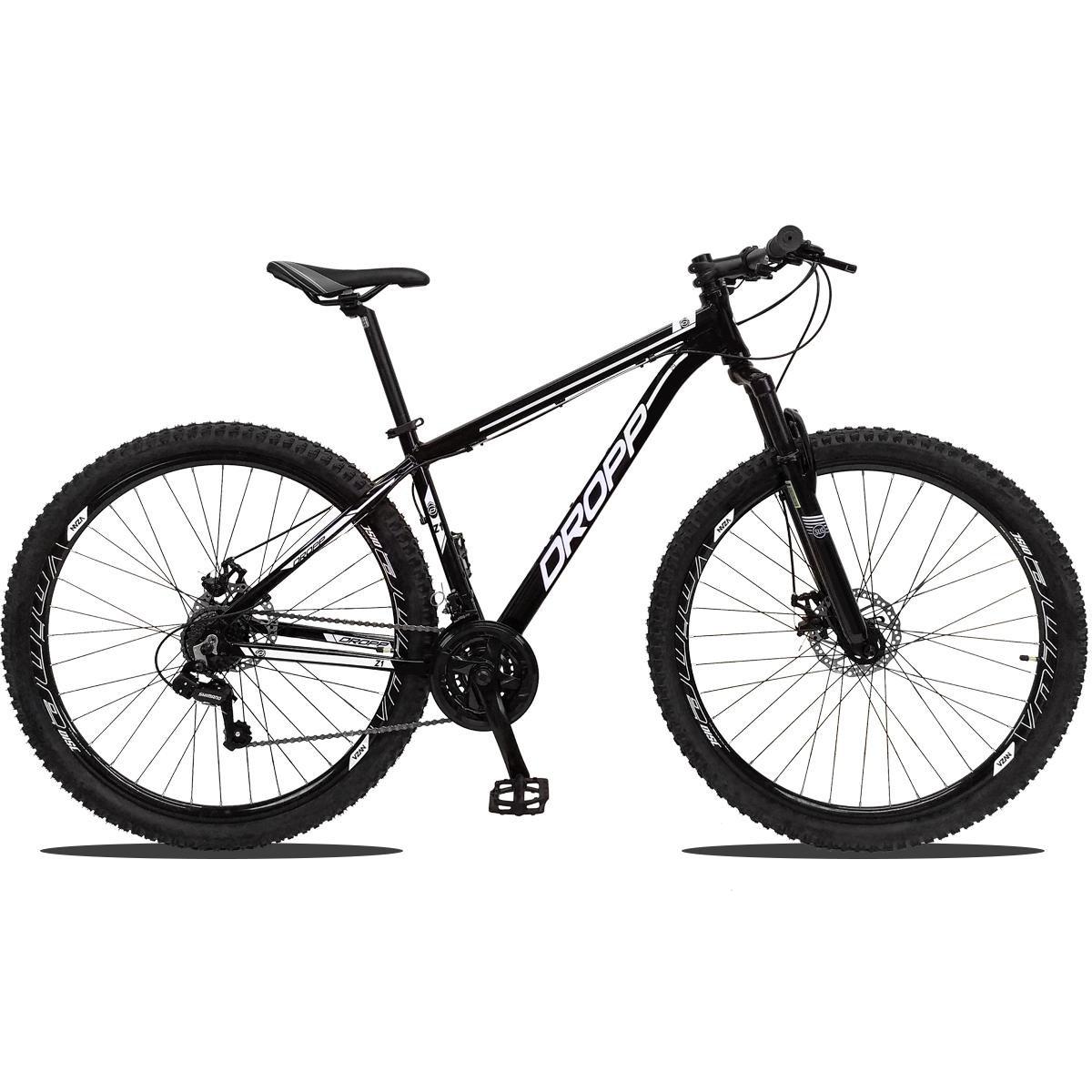 Bicicleta Dropp Z1 T17 Aro 29 Susp. Dianteira 21 Marchas - Preto