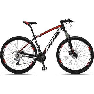 Bicicleta Dropp Z3 27V Aro 29 Câmbios Shimano Freios Hidráulios e Suspensão Com Trava no Ombro