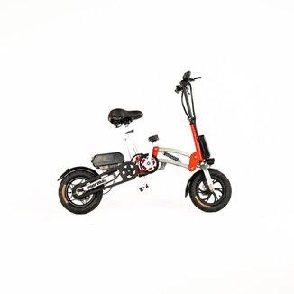 Bicicleta eletrica Mormaii mini articulada