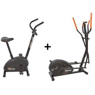 Bicicleta Ergométrica Bp-880 E Eliptico Magnético Polimet