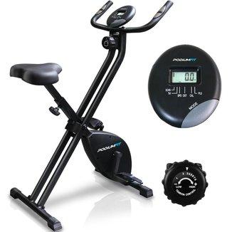 Bicicleta Ergométrica Dobravel Podiumfit X Bike Xb100 Magnet 8 Cargas Silenciosa