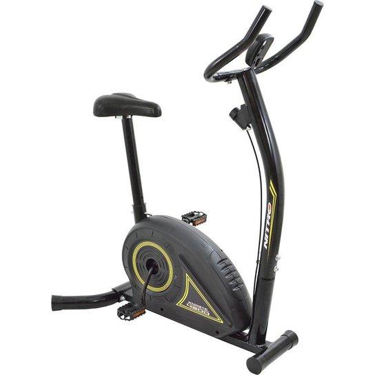 Bicicleta Ergometrica Nitro 4300 até 100kg Magnética Polimet - Preto