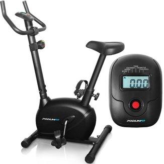 Bicicleta Ergométrica PodiumFit V100 - Magnética 8cargas - Max120Kg Silenciosa