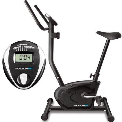 Bicicleta Ergométrica PodiumFit V90 - Magnética - 8 cargas